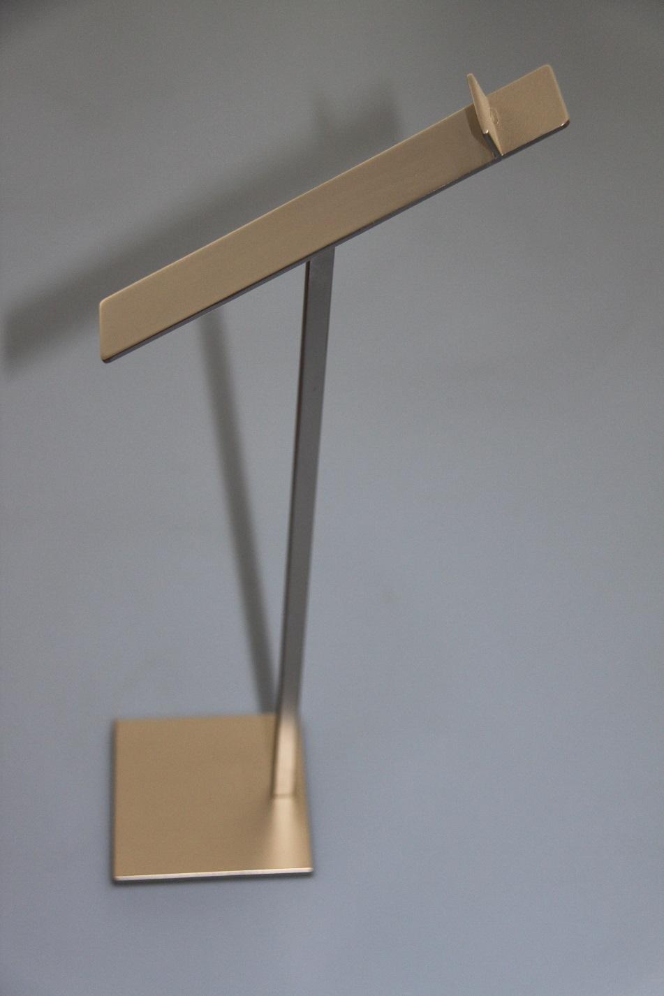 Porta scarpe nikel opaco – Brass nikel matt shoes stand